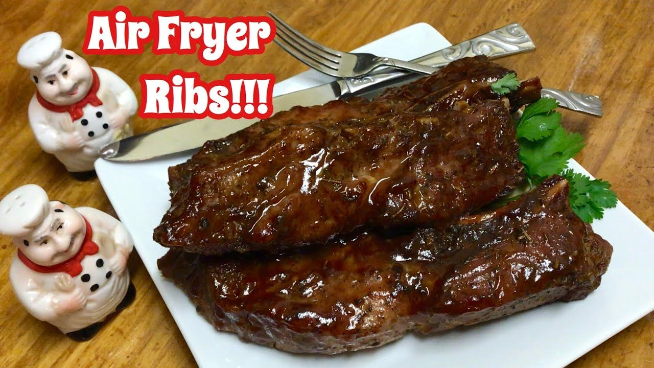 How To Cook Ribs In The Air Fryer Country Style Ribs