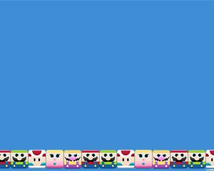 Free Mario Bros Games PowerPoint Template