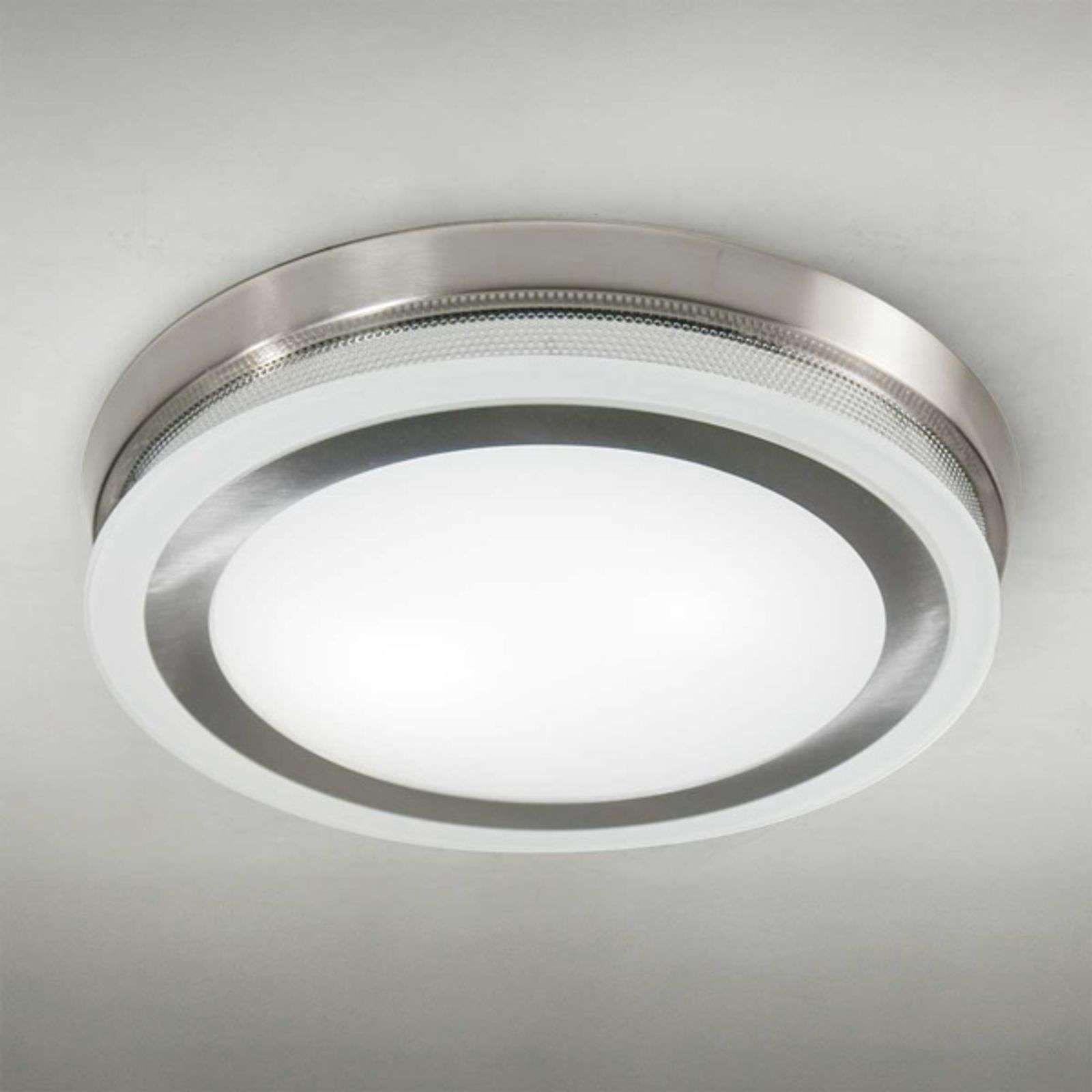 Ronde Plafondlamp Ring 9115 51 Cm Chroom Van Lam In 2020 Plafondlamp Plafondverlichting Lampen Plafond