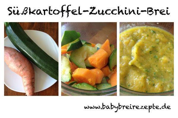 Babybrei zucchini rezept