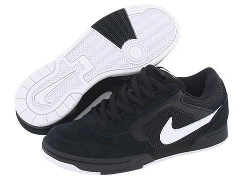NIKE SKEET Black White 324957 011 Mens Shoes NIB