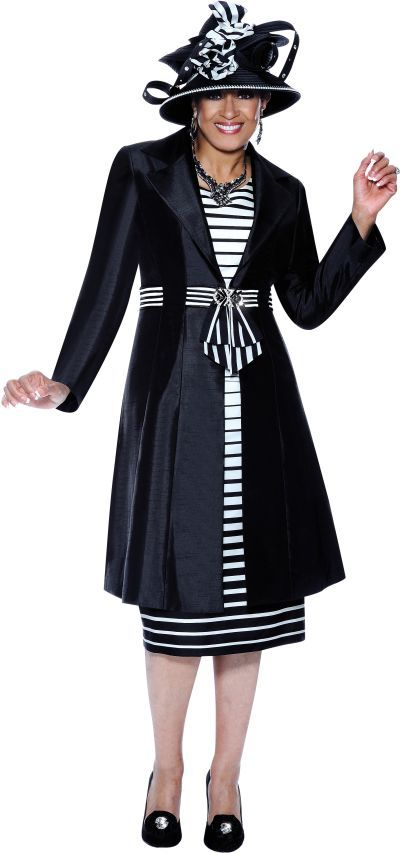 Black church dress suits