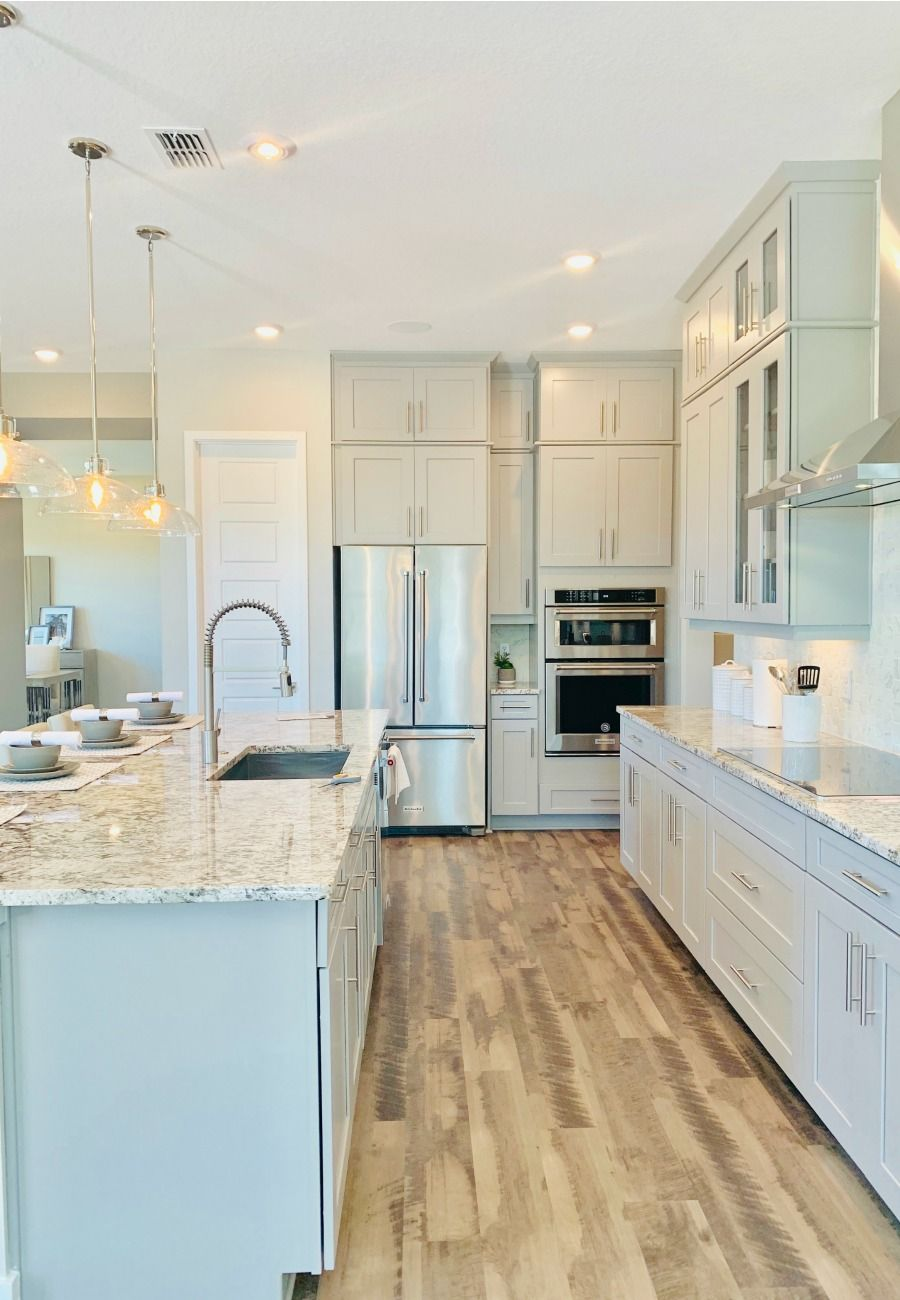 6 Design Ideas To Add Luxury To Your New Construction Home New Home Construction Log Home Kitchens Kitchen Inspiration Design