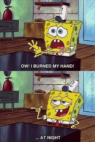Everythings Better At Night Spongebob Pinterest Spongebob