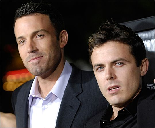 Ben And Casey Affleck On Film Affleck Brothers Celebrity Siblings Casey Affleck