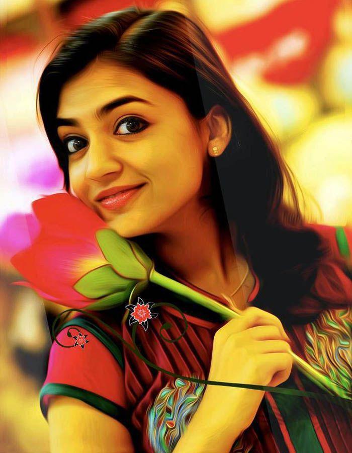 Blogger Actress Wallpaper Hd Photos Nazriya Nazim