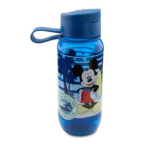 Mickey Mouse Water Bottle - Small | Drinkware | Disney ...
