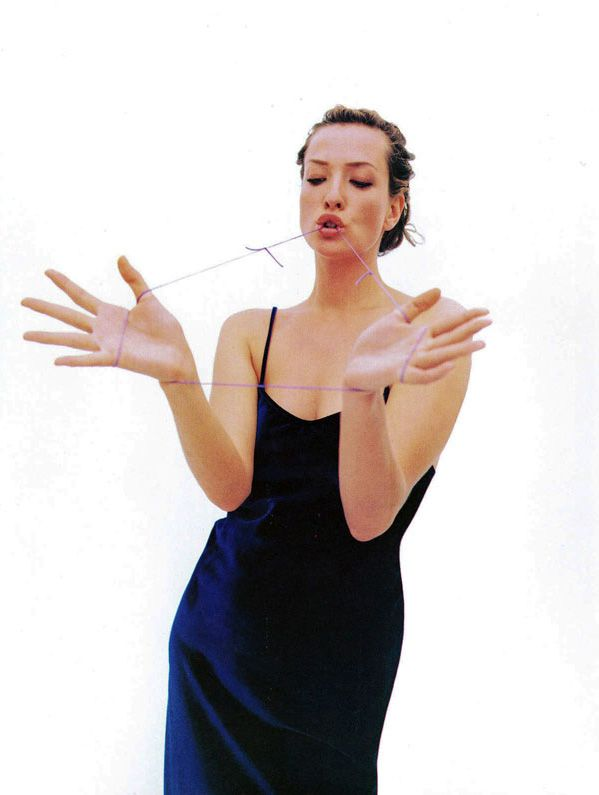 """It's a Demanding…""  Tatjana Patitz by Mario Sorrenti for Harper's Bazaar US October 1993"