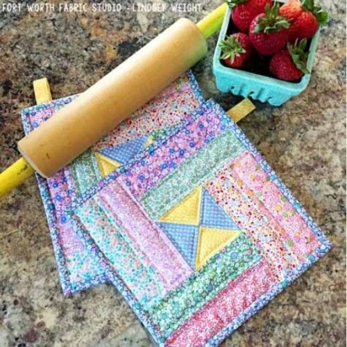 30s Pot Holders Quilting Digest Quilting Digest Pinterest