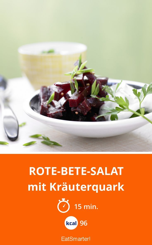 Rote-Bete-Salat - mit Kräuterquark - smarter - Kalorien: 96 Kcal - Zeit: 15 Min. | eatsmarter.de