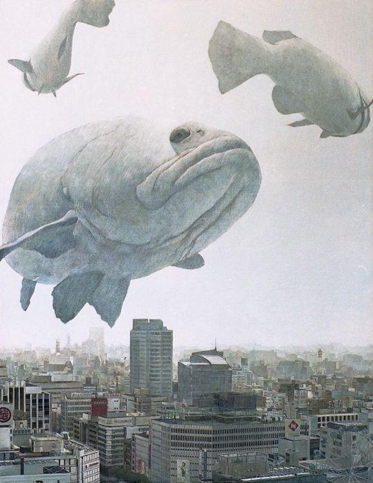 animaux japon tokyo dessin graphisme 02 Des animaux géants dessinés dans les rues du Japon  bonus