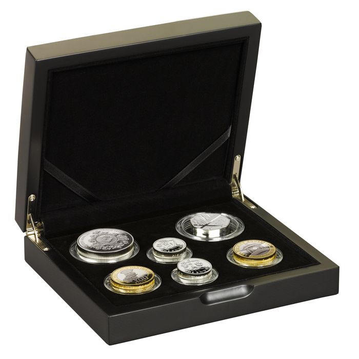 GB 2014 Commemorative Piedfort Silver Proof Set