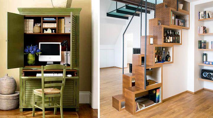 Muebles para casas pequeñas | MUEBLES CONVERTIBLES | Pinterest ...