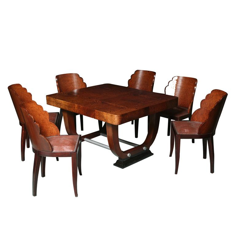 Art Deco Dining Room Set Fabulous Furniture