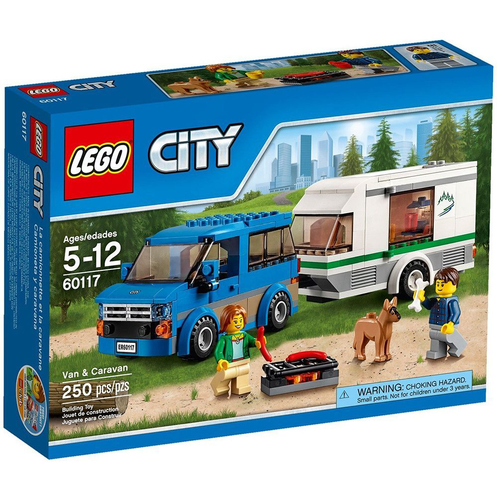Pin lego 60032 city the lego summer wave in official images on - Lego City Van Caravan