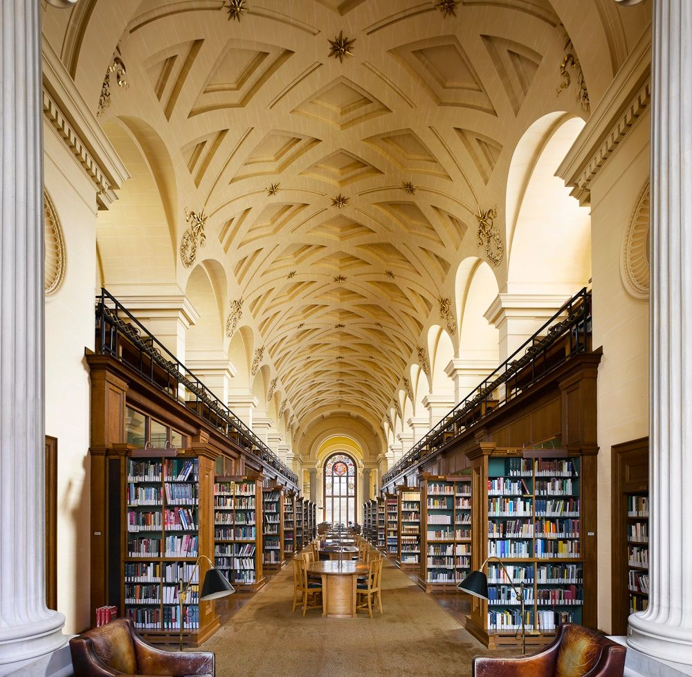 Cambridge University Library, Cambridge, United Kingdom, 1842 ...