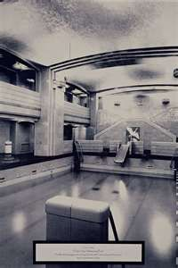 Favorite haunts rms queen mary s pool room old photos - Queen mary swimming pool victoria ...