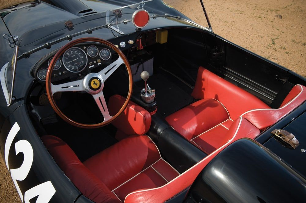 This 1957 Ferrari 250 Testa Rossa is another former world record holder for the most expensive...