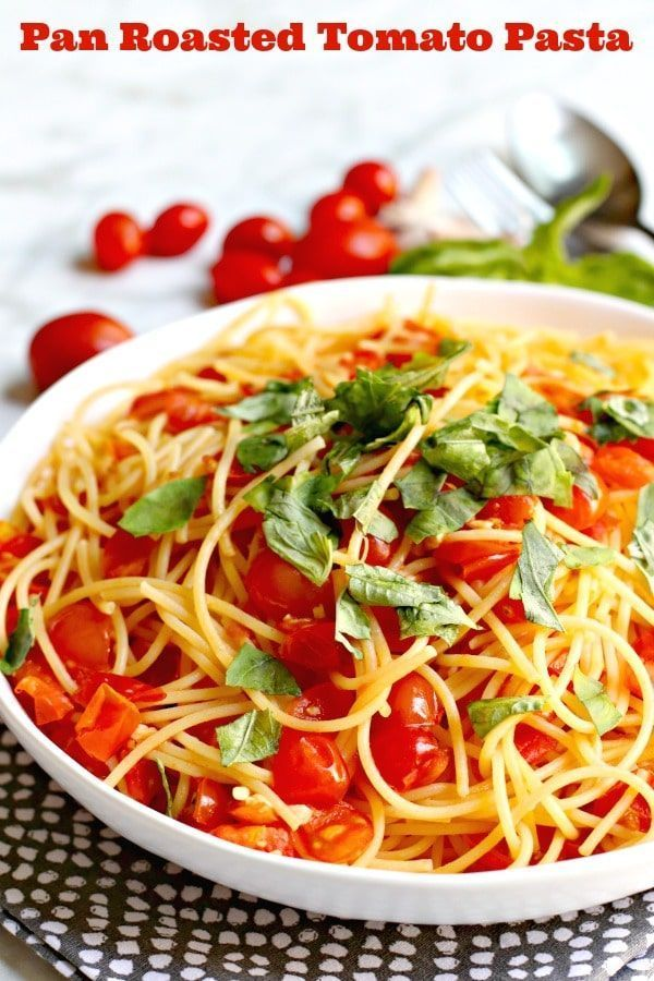 Pan Roasted Tomato Pasta