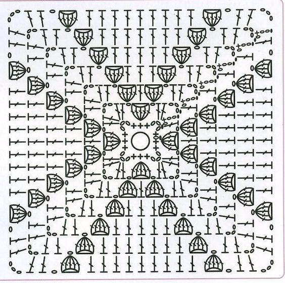 Mis Pasatiempos Amo el Crochet: 1000 Patrones de cuadrados de la ...