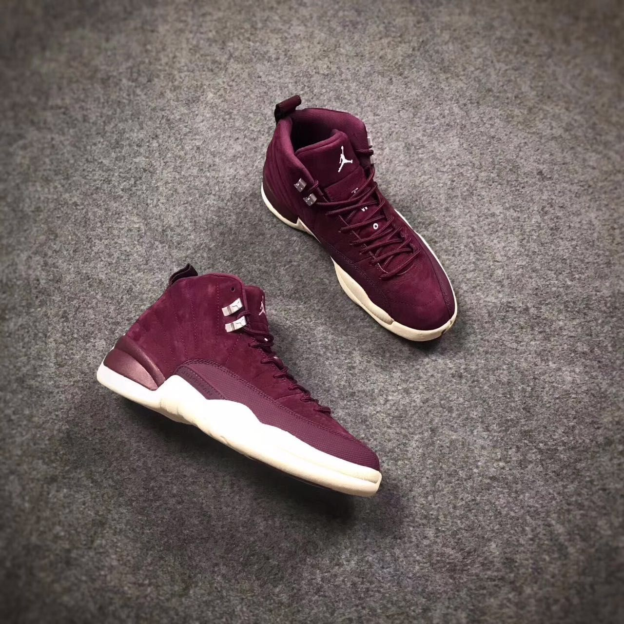 463c047cdb4 Air Jordan 12 Bordeaux Wine Red Shoes | for real | Shoes, Red shoes ...