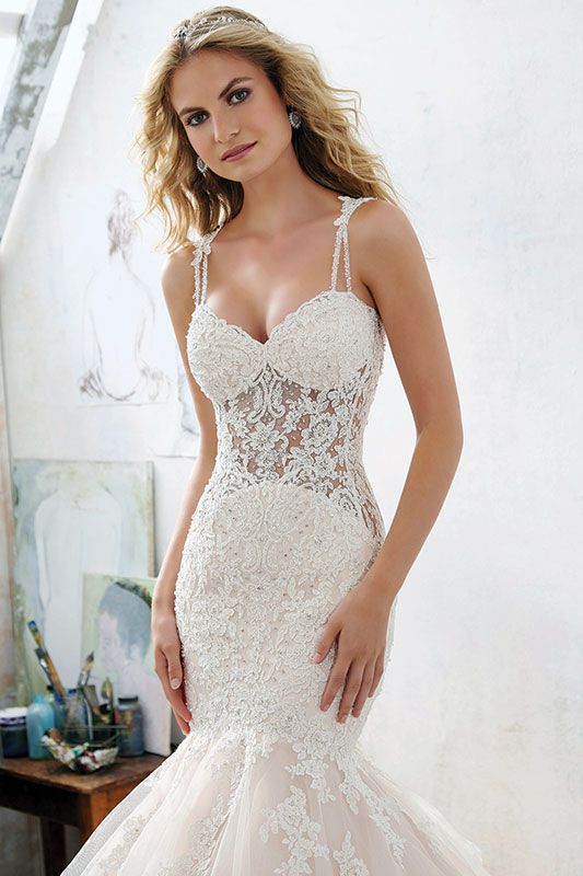 Perfect Wedding Gown For Your Body Type: Hourglass Mori Lee, style ...