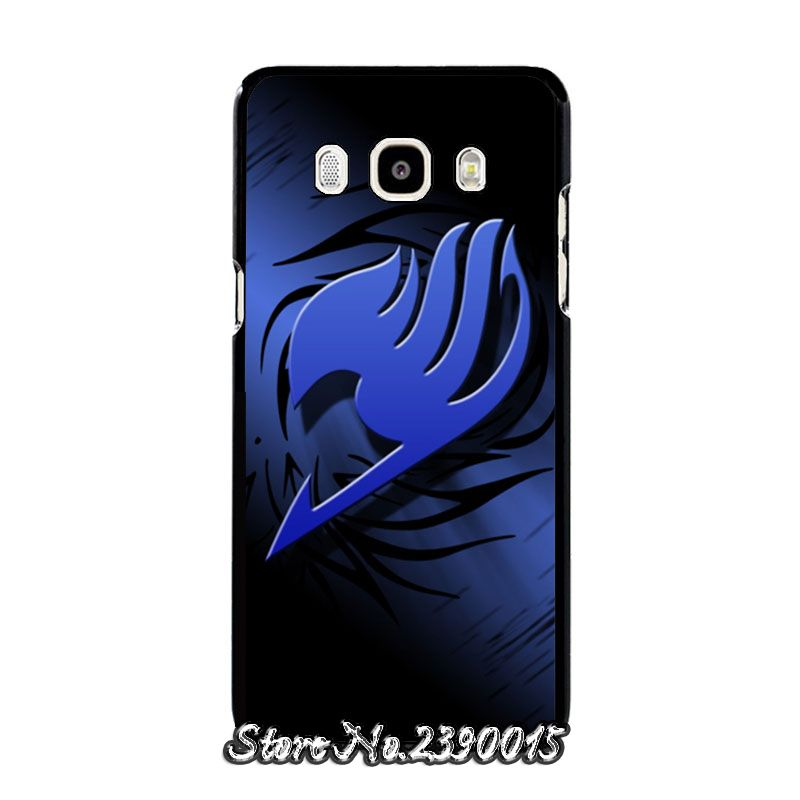 Manga Fairy Tail Logo Rubber Cover Case for Samsung Galaxy A3 A5 ...