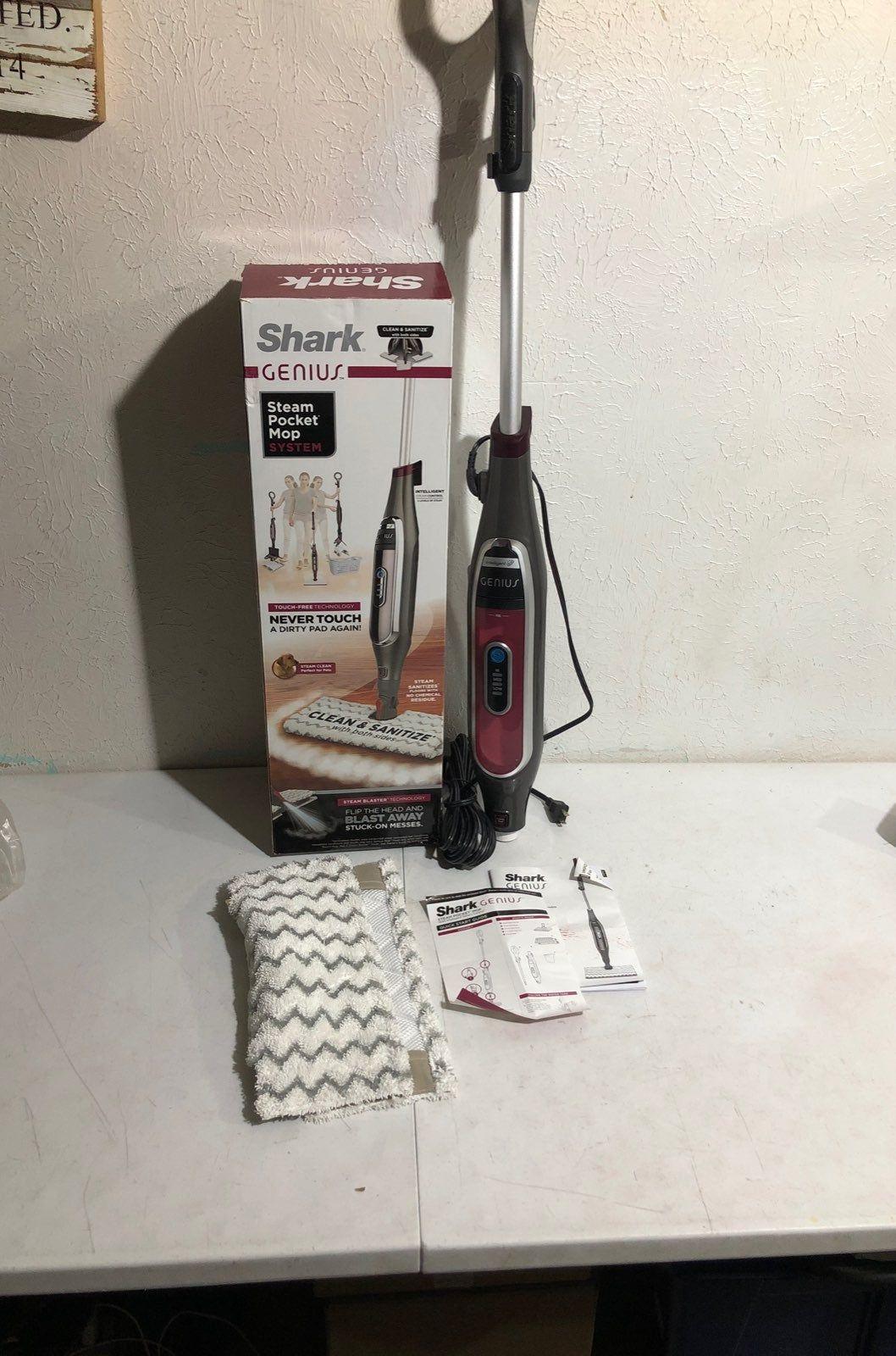 Shark genius steam pocket mop system. Brand new, missing