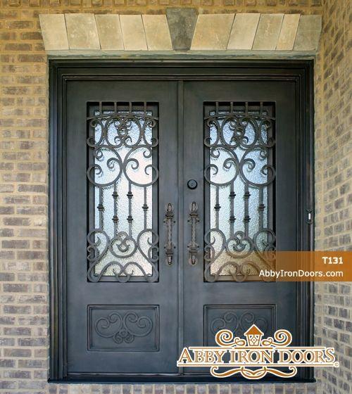 Charmant Abby Iron Doors