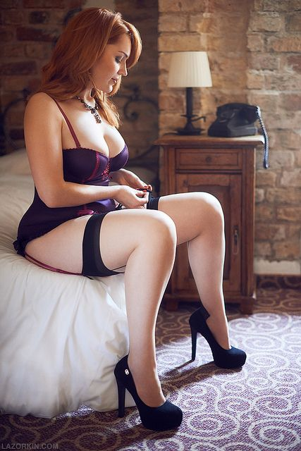 Consider, that Redhead mature negligee