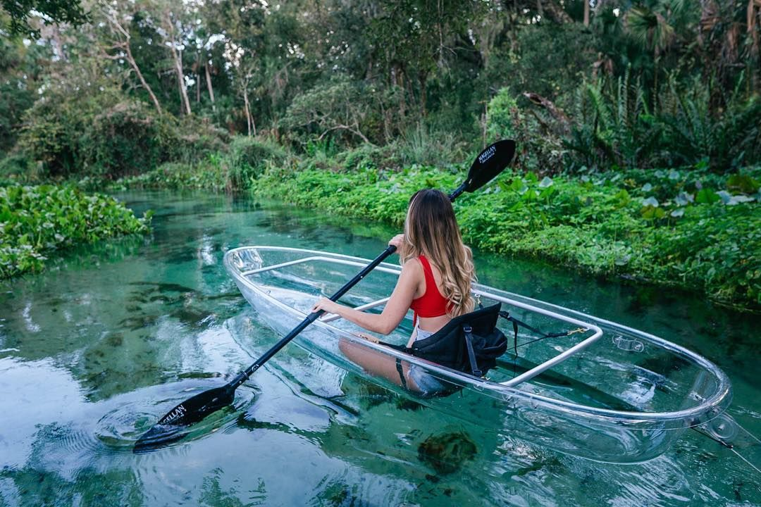 Clear Kayak Tours In Florida Get Up And Go Kayaking Must Do