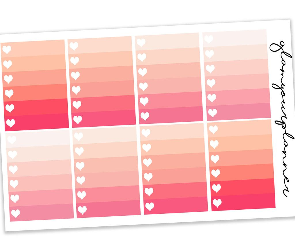 Peach Ombre Checklist   Daily Checklists  Planners