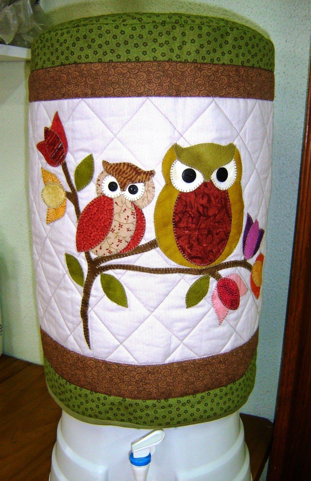 Adesivo De Herpes Labial ~ artesanato em tecido natalino capa de garraf u00e3o de agua Pesquisa Google Owls Pinterest