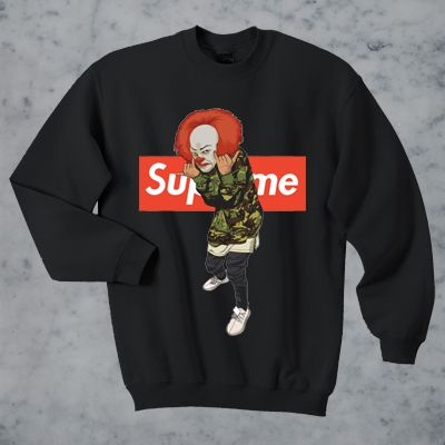 Pennywise Bape Supreme Sweater And