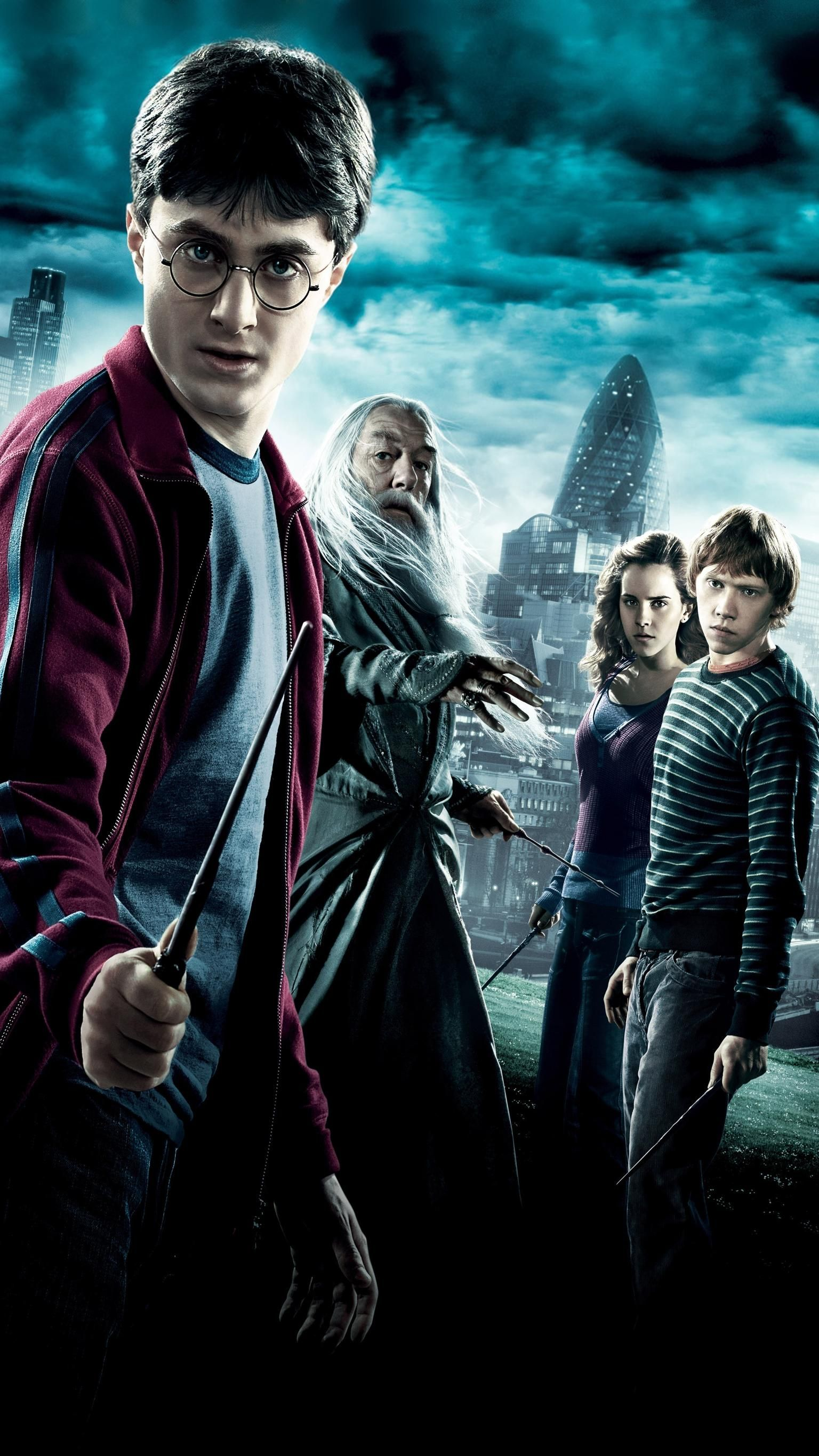 harry potter and the half-blood prince (2009) phone wallpaper in