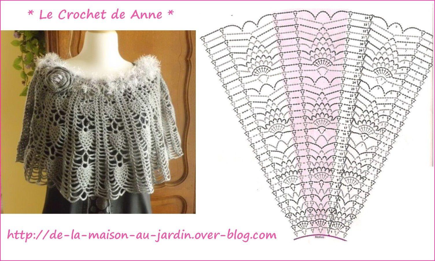 Crochet Cape | extra special | Pinterest | Uncinetto, Uncinetto ...