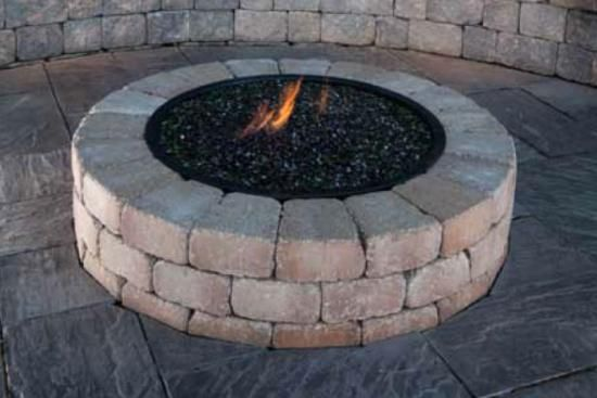 Above Ground Outdoor Fire Pit Outside Pits