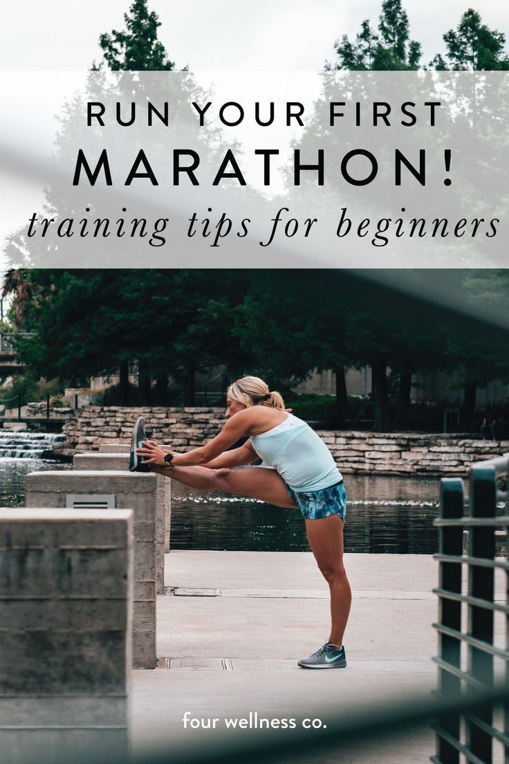 Run your first marathon or half marathon! // How to prepare for running your first long race (specif...