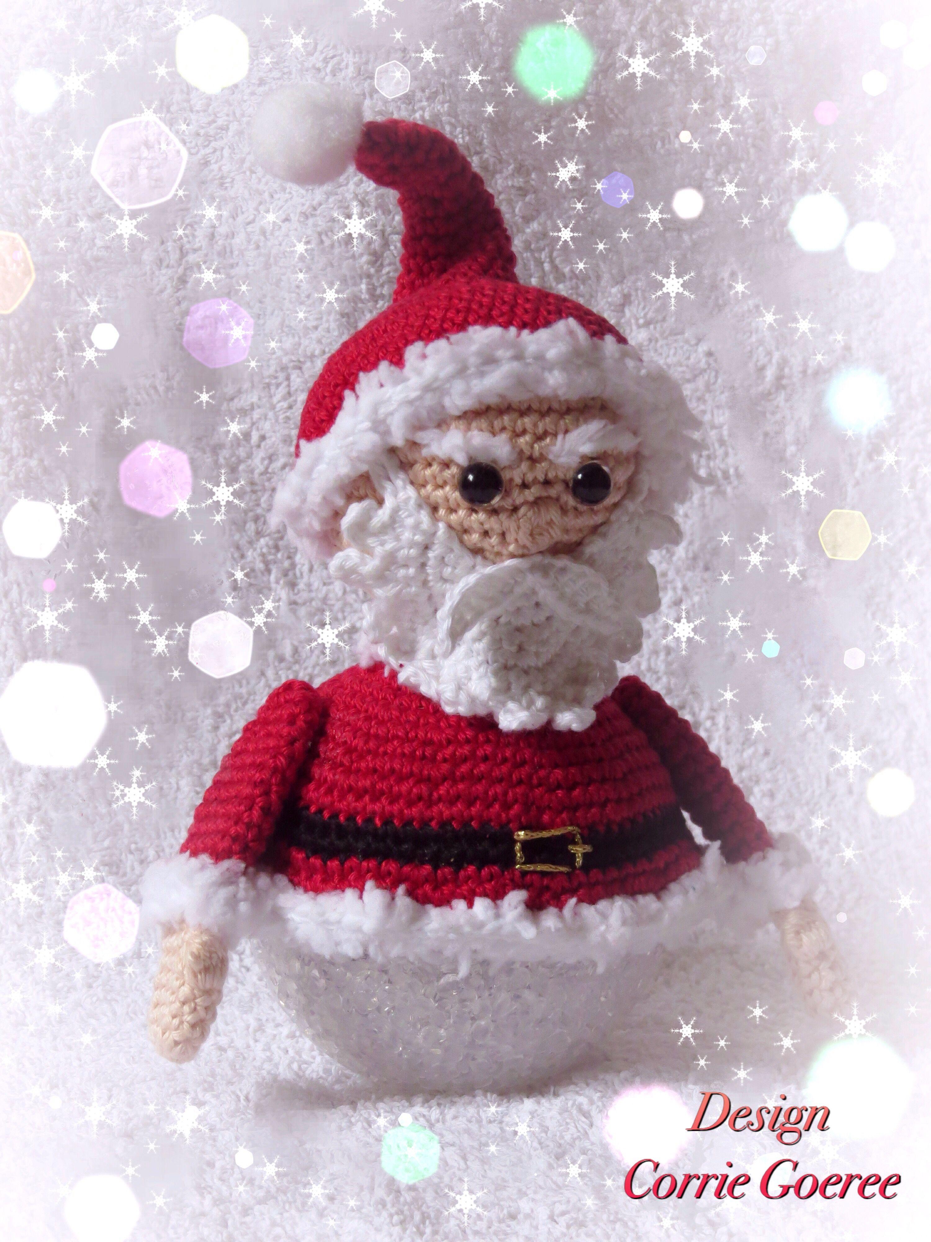 Kerstmannetje Op Lichtboldesign Corrie Goereepatroon Fb De Gretige