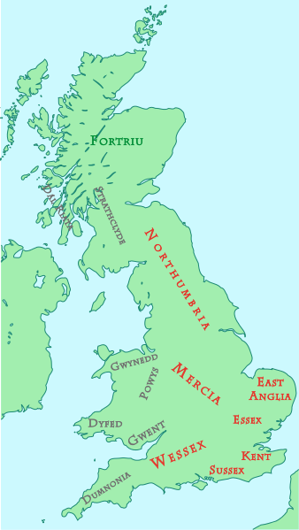 Cwenthryth Of Mercia British Kingdom English Monarchs Anglo Saxon