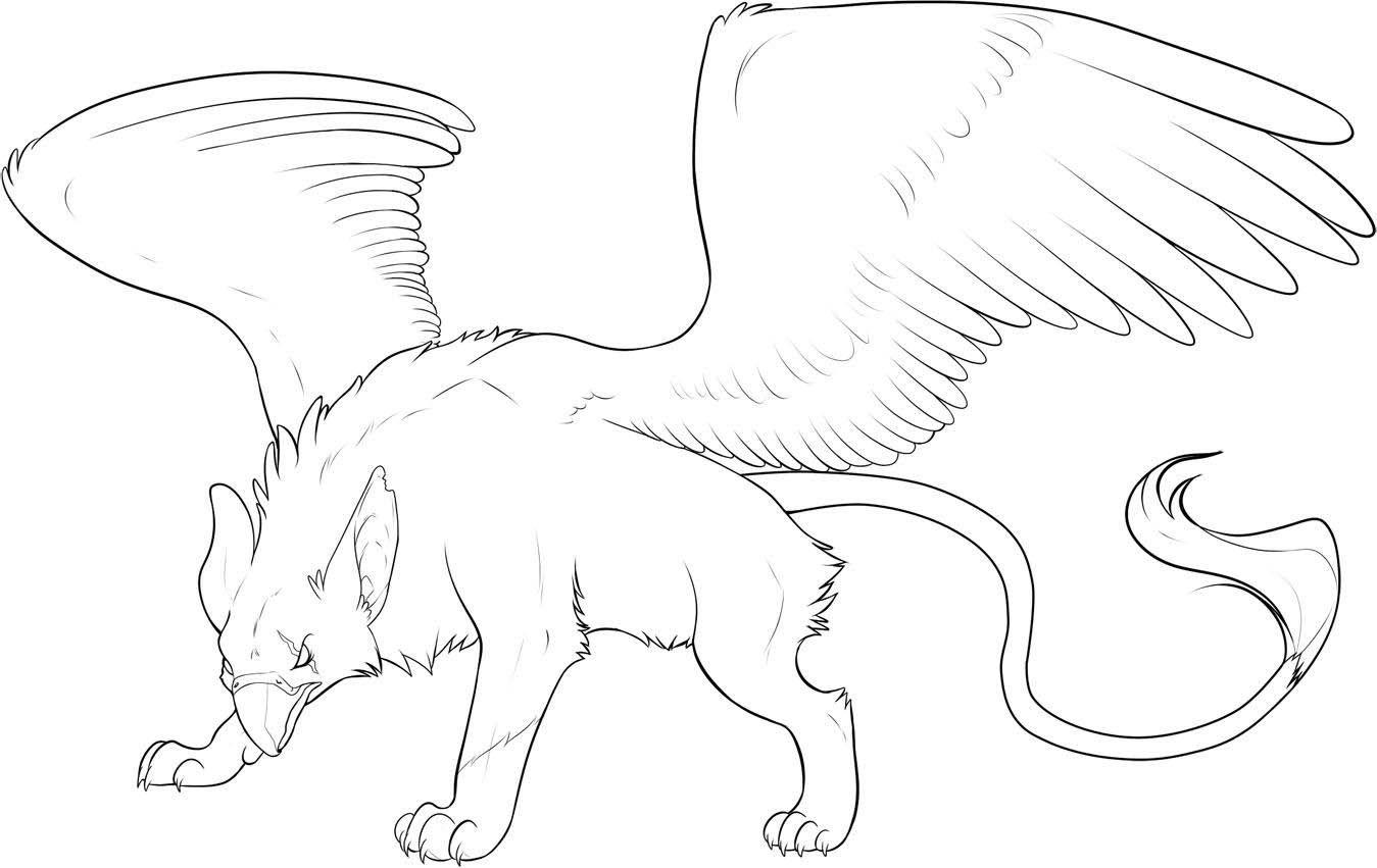 мифические животные рисунки поэтапно декабре прошлого