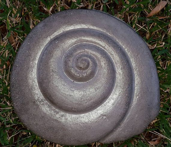 Check out this item in my Etsy shop https://www.etsy.com/listing/250529292/seashell-steppinggarden-stone