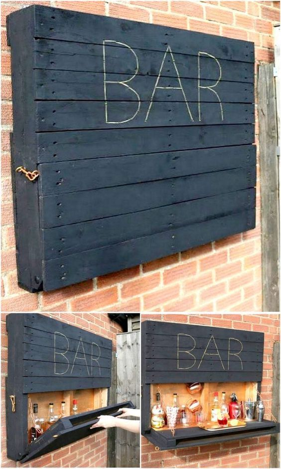 Original DIY pallet ideas for your outdoors