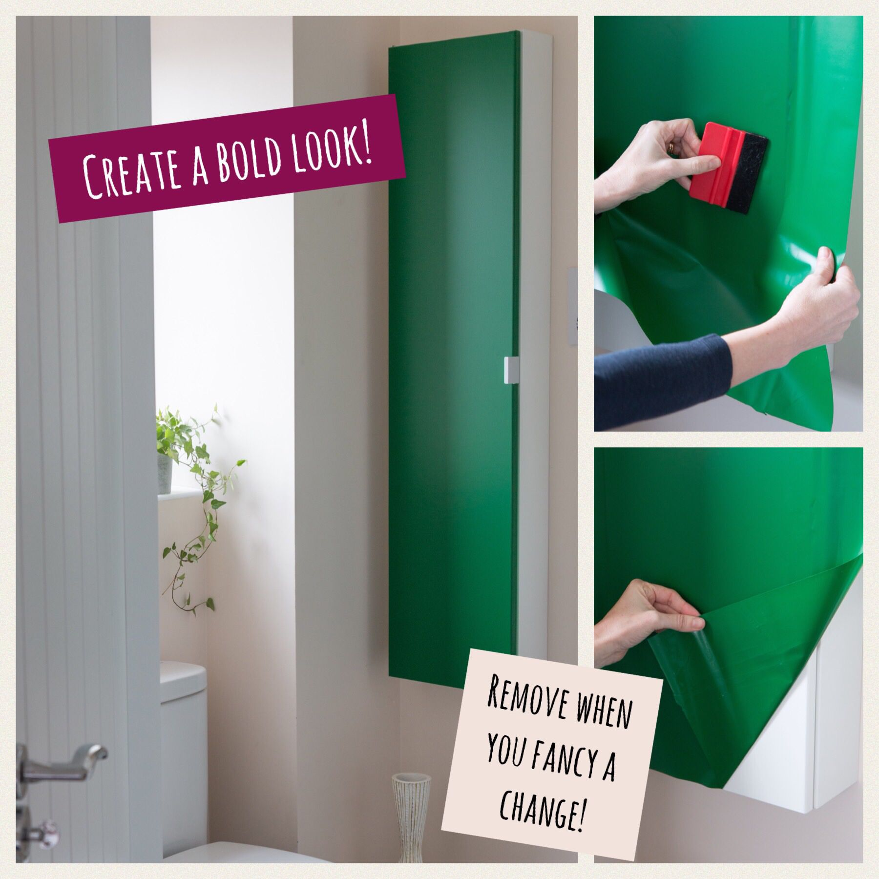 D C FIX GLOSSY GREEN STICKY BACK PLASTIC SELF ADHESIVE VINYL FILM WRAP RAL6016