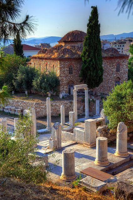 Athens Greece Athenes Grece Paysage