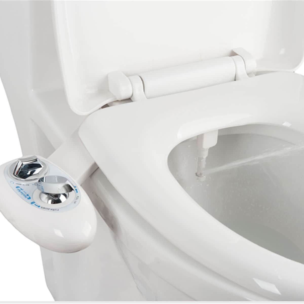 Costway Fresh Water Spray Non Electric Mechanical Bidet Toilet