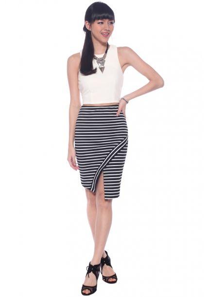 cf901aad3e04 dat striped skirttttt (from Love