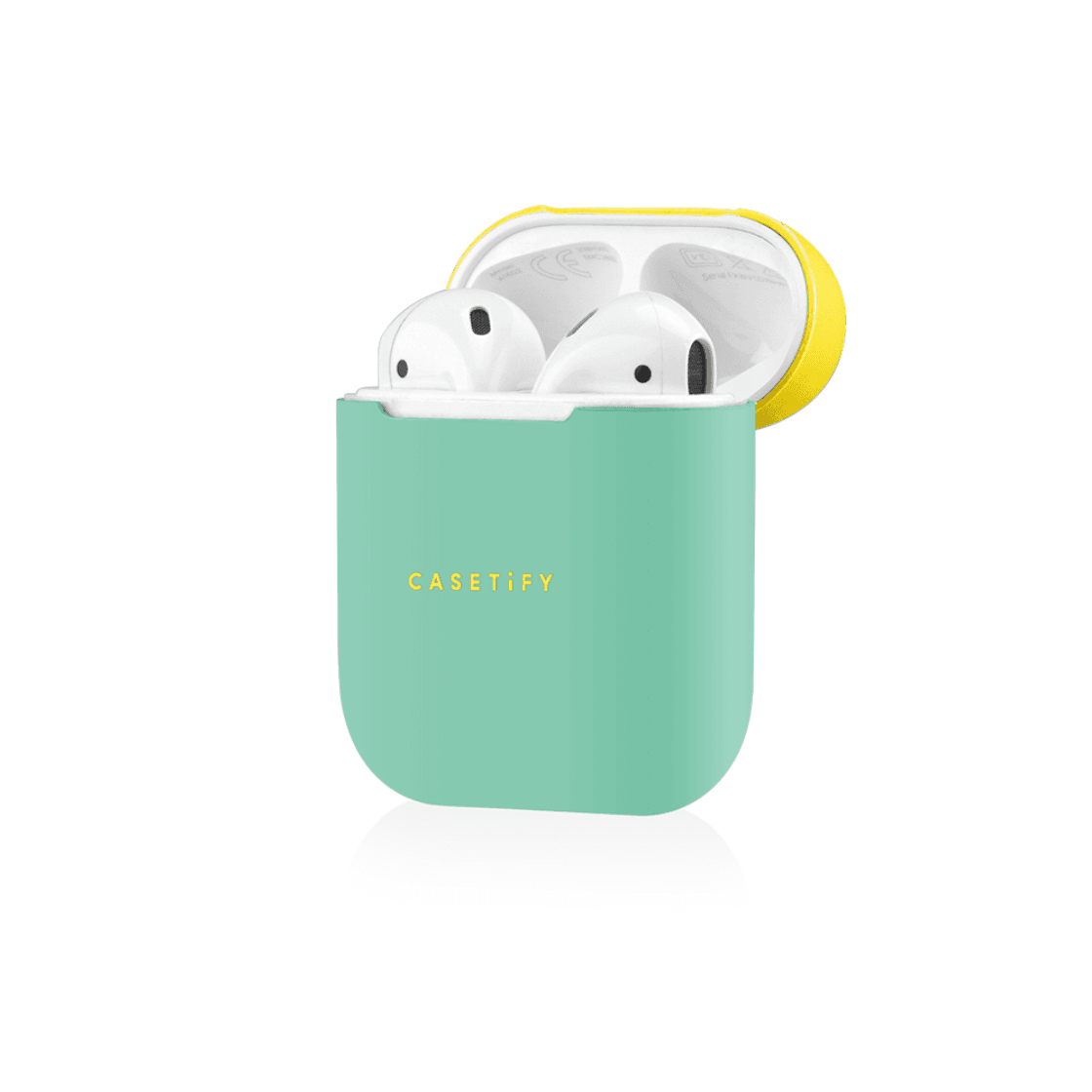 Neon Airpods Case Cover And Skin For Apple Airpods Charging Case Casetify Earbuds Case Apple Accessories Iphone 6 Case