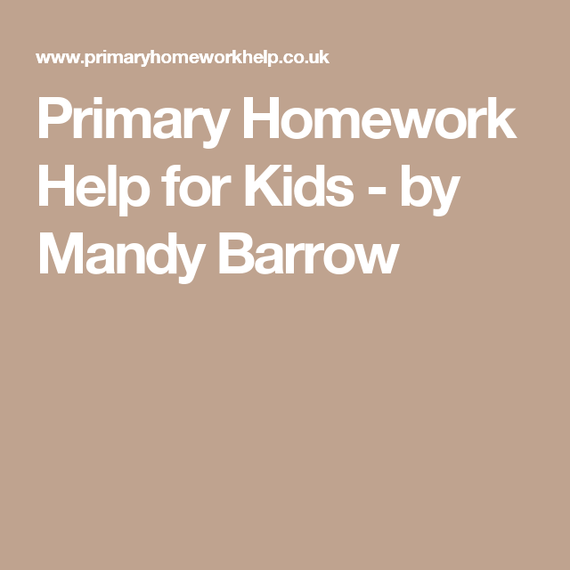 primary homework help mandy barrow