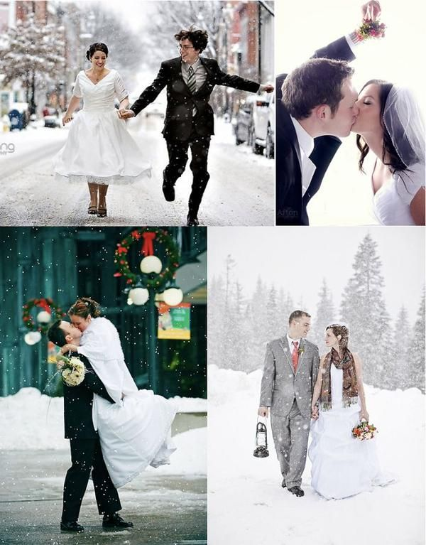 Winter Wedding Photo Ideas - http://goo.gl/DZIqj2